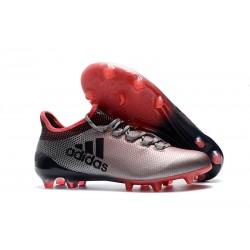 adidas X 17.1 Fg Nuevo Zapatillas de Futbol - Rosa Gris