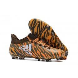 adidas X 17.1 Fg Nuevo Zapatillas de Futbol - Marrón Naranja