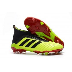 Botas de Fútbol Adidas Predator 18.1 Fg para Hombre - Amarillo Negro
