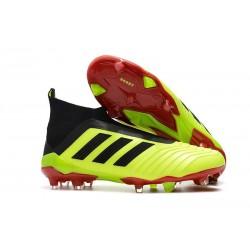 Bota de Fútbol para Hombre Adidas Predator 18+ FG - Amarillo Nero