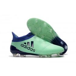 adidas X 17+ Purespeed FG Nuevo Zapatos de fútbol - Verde Negro