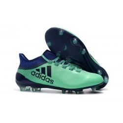 adidas X 17.1 Fg Nuevo Zapatillas de Futbol - Verde Negro