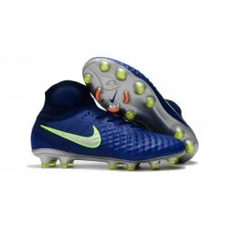 Nuevo Zapatos de Futbol Nike Magista Obra II FG - Azul Oscuro