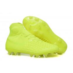 Nuevo Zapatos de Futbol Nike Magista Obra II FG - Amarillo