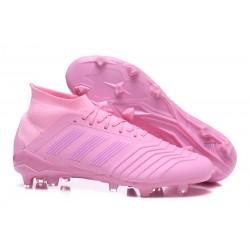 Adidas Predator 18.1 Fg Taco de Fútbol - Rosa