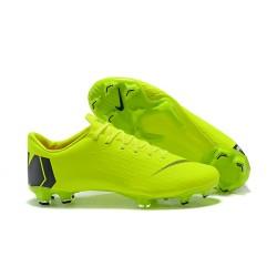Zapatos de fútbol 2018 Nike Mercurial Vapor 12 FG - Verde Negro