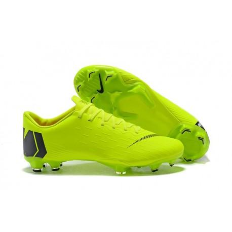 ddef461af89e3 Zapatos de fútbol 2018 Nike Mercurial Vapor 12 FG - Verde Negro