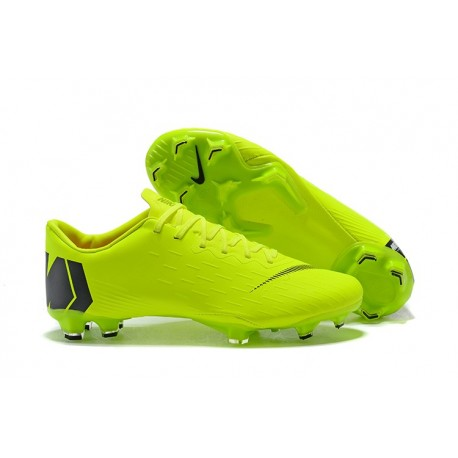 bf9340ef92e32 Zapatos de fútbol 2018 Nike Mercurial Vapor 12 FG - Verde Negro