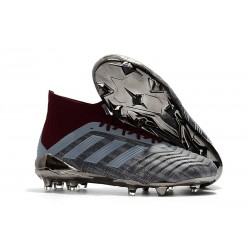 Paul Pogba adidas PP Predator 18.1 FG Gris Rojo