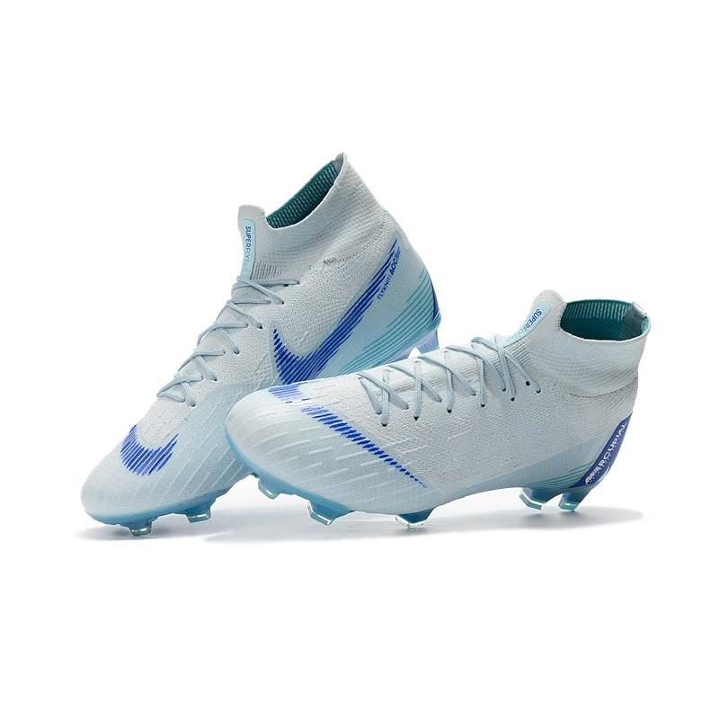 online store 183cf 2d403 Nike Mercurial Superfly VI Elite FG Tacos de Futbol - Azul