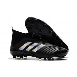 Adidas Predator 18+ FG Botas de Futbol - Negro Plata