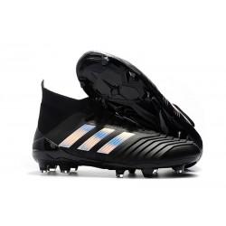 Adidas Predator 18.1 Fg Taco de Fútbol - Negro Plata