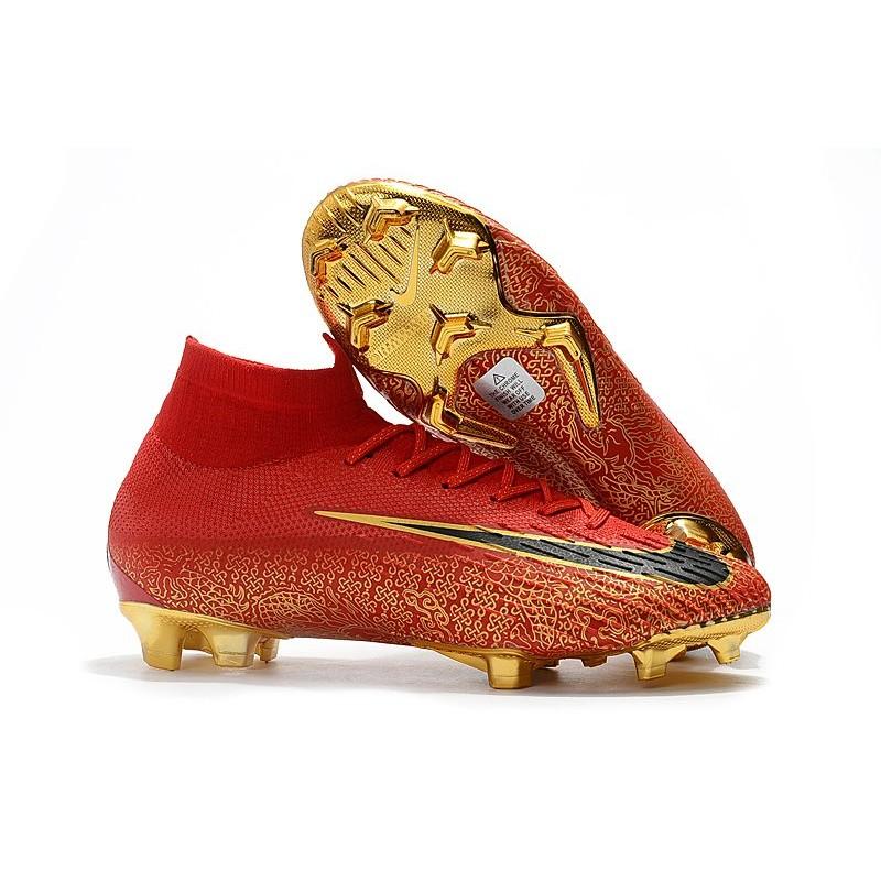 751d79bc7f Botas de Fútbol Nike Mercurial Superfly VI 360 Elite FG - Rojo Oro
