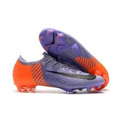 Nike Mercurial Vapor XII 360 Elite FG Bota - Violeta Naranja Negro