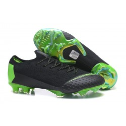 Nike Mercurial Vapor XII 360 Elite FG Bota - Negro Verde
