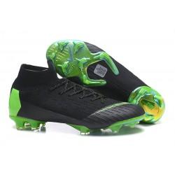 Botas de Fútbol Nike Mercurial Superfly VI 360 Elite FG - Negro Verde