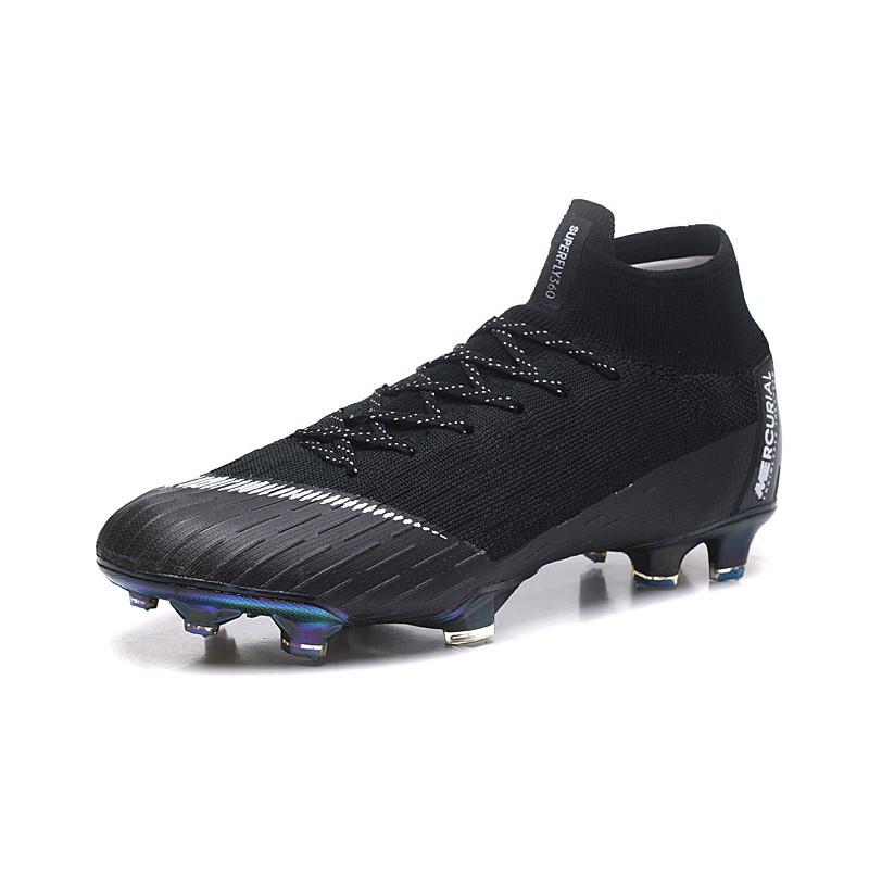 Botas de Fútbol Nike Mercurial Superfly VI 360 Elite FG - Negro Blanco 1937394562b06