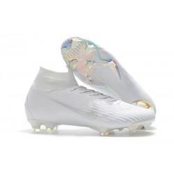 Botas de Fútbol Nike Mercurial Superfly VI 360 Elite FG - Blanco