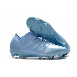 adidas Nemeziz Messi 18.1 FG Bota de Fútbol Copa Mundial - Azul