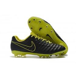 Nike Botas de fútbol Tiempo Legend VII Elite FG - Negro Amarillo