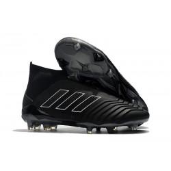 Adidas Predator 18+ FG Tacos de Fútbol para Hombre - Shadow Mode Negro