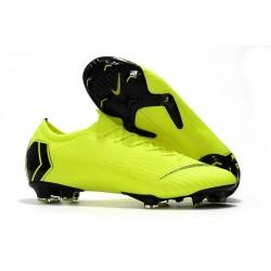 Nike Mercurial Vapor 12 Elite FG Tacos de Futbol - Voltio Negro