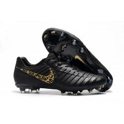 Nike Botas de fútbol Tiempo Legend VII Elite FG - Negro