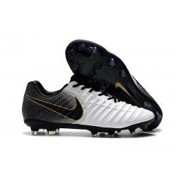 Nike Botas de fútbol Tiempo Legend VII Elite FG - Blanco Negro