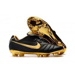 Nike Botas de fútbol Tiempo Legend VII Elite FG - Negro Oro