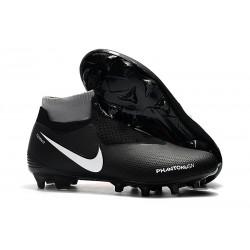 Zapatos de Fútbol Nike Phantom VSN Elite DF FG - Negro Rojo Bianco