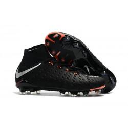 Nike Botas de Fútbol para Hombre Hypervenom Phantom DF FG- Negro Metal