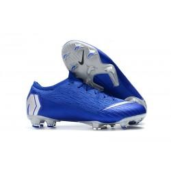 Nike Zapatos de Fútbol Mercurial Vapor XII Elite FG - Azul Plata