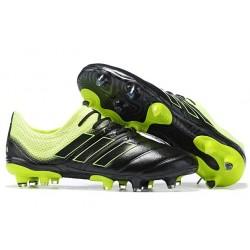 adidas Copa 19.1 FG Nuevas Zapatos de Fútbol - Negro Amarillo
