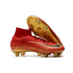 Cristiano Ronaldo Nike Mercurial Superfly VI Elite SG-Pro Rojo Oro