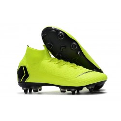 Zapatos de Fútbol Nike Mercurial Superfly VI Elite SG-Pro Voltio Negro