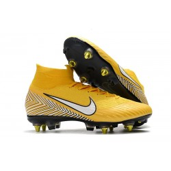 Neymar Zapatillas Nike Mercurial Superfly 6 Elite SG-Pro Amarillo