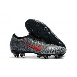 Nike Mercurial Vapor XII Elite SG-Pro AC Neymar Negro Rosso Blanco