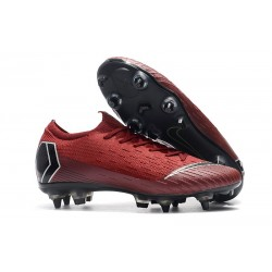 Nike Mercurial Vapor XII Elite SG-Pro AC Rojo Negro