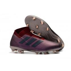 Zapatos de Fútbol Adidas Nemeziz 18+ FG - Violeta Rosso