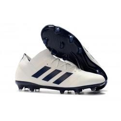 adidas Nemeziz Messi 18.1 FG Bota de Fútbol Blanco Negro