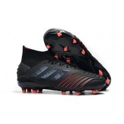 Botas y Zapatillas de Fútbol adidas Archetic Predator 19.1 FG - Negro Rojo