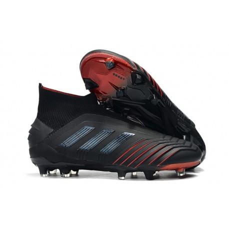 Rojo Negro Botas De Archetic Fútbol Adidas Predator 19Fg AR4jL5