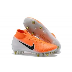 Zapatillas Nike Mercurial Superfly 6 Elite SG-Pro Arancione Negro