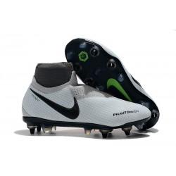 Nike Phantom VSN Elite DF SG-Pro Anti Clog Botas Plata Rojo Negro