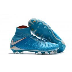 Nike Hypervenom Phantom III DF FG Zapatillas de Fulbol Azul