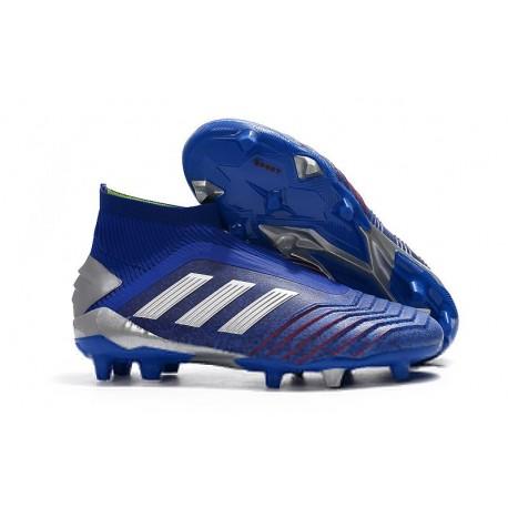 Botas de fútbol adidas PREDATOR 19+ FG - Azul Argento