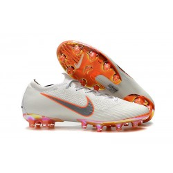 Nike Mercurial Vapor 360 Elite AG-PRO Botas de Fútbol Blanco Naranja