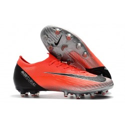 Nike Mercurial Vapor 360 Elite AG-PRO Botas de Fútbol Rojo Negro Plata