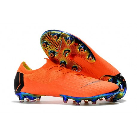 Nike Mercurial Vapor 360 Elite AG-PRO Botas de Fútbol Arancio Nero