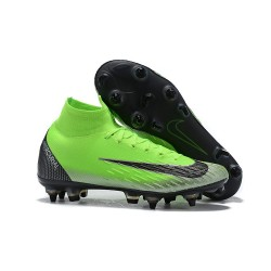 Cristiano Ronaldo Zapatillas Nike Mercurial Superfly 6 Elite SG-Pro Verde